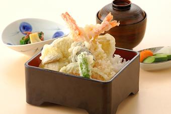 海老天丼1,200円